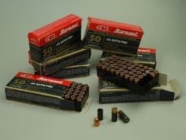 2127 Комплект 11.43х23-мм (.45 Auto) пуля с капсюлированной гильзой