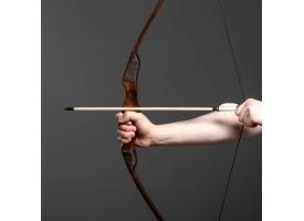 """Сувенирное оружие """"Лук фигурный"""", деревянное, взрослый, коричневый, массив ясеня, 120 см"""