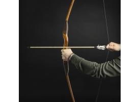 """Сувенирное оружие """"Лук традиционный"""", деревянное, взрослый, коричневый, массив ясеня, 170 см"""
