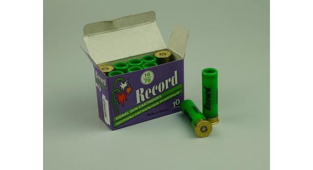 Сигнальный патрон 16 калибра / 16х70 зеленого огня [сиг-182]