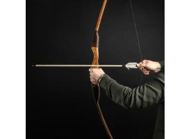 """Сувенирное деревянное оружие """"Лук фигурный"""", взрослый, коричневый, массив ясеня, 170 см"""