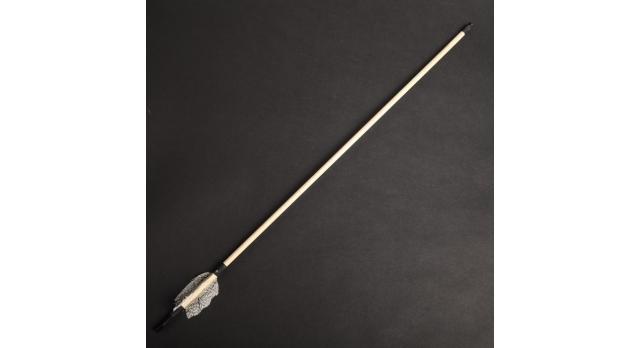 """Лук деревянный, взрослый """"Фигурный"""", коричневый, массив ясеня, 170 см 5"""