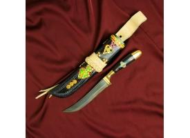 Пчак Шархон, рукоять из кости и рога 1
