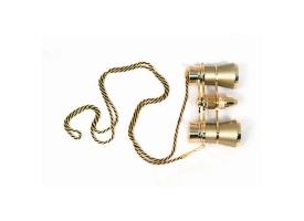 Бинокль Levenhuk Broadway 325F с подсветкой и цепочкой, золотой 1
