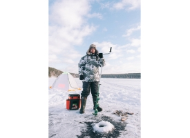 Ледобур MORA Ice Expert-Pro, d150 мм 1