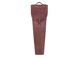 Шампура подарочные 6 шт. в колчане из натуральной кожи, коричневого цвета 1