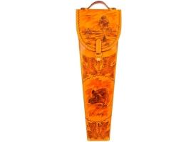 Шампура подарочные 6 шт. в колчане из натуральной кожи 1