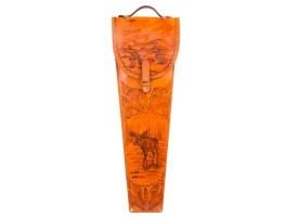 Шампуры подарочные 6 шт. в колчане из натуральной кожи. 1