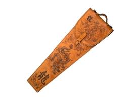 Шампуры подарочные (драконы) 6 шт. в колчане из натуральной кожи 1