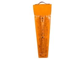 Шампуры подарочные 6 шт. в колчане из натуральной кожи! 1