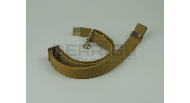 Плечевой ремень для АК /  Ткань военный 1 карабин АКС-74у [сн-190]