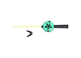 Удочка зимняя «Профи» УП-2 ручка пластик, хлыст поликарбонат, цвет зелёный