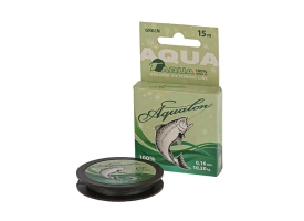 Леска плетёная Aqua Aqualon Dark-Green, 15 м, d0,16 мм