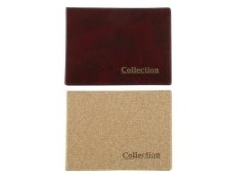Альбом для монет горизонтальный, на кольцах, Calligrata, 230х170 мм, 10 листов, 240 монет, ячейка 34х39 мм, обложка иску