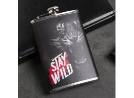 Фляжка «Stay wild», 270 мл