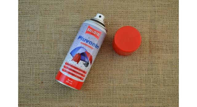 Водоотталкивающий спрей Ballistol для текстиля и замши/Pluvonin Waterstop воздухопроницаемая пропитка, объем 200 мл [мт-964]