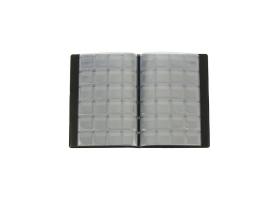 Альбом для монет Calligrata, 125х185 мм на 240 монет, ячейка 26х29 мм, обложка ПВХ, микс 1