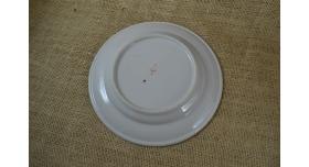 Тарелка для вторых блюд ВМФ / Тип 2 б/у диаметр 24 см [фр-102]