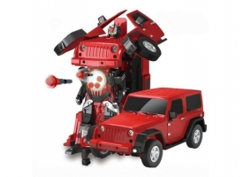 Р/У трансформер MZ Jeep Rubicon Red 2329PF 1/14 +акб и з/у