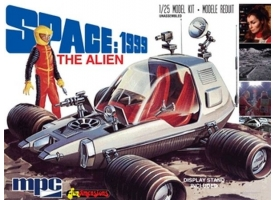 """Склеиваемая модель MPC 1/25 pace 1999: Alien """"Moon Rover"""