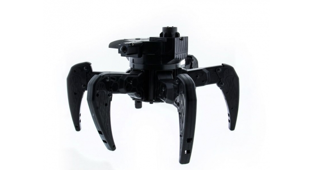 Р/У боевой робот-паук Space Warrior, лазер, диски, синий, Ni-Mh и З/У, 2.4G 6