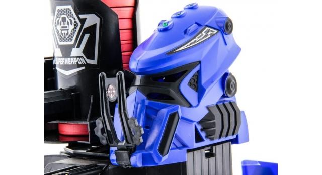 Р/У боевой робот-паук Space Warrior, лазер, диски, синий, Ni-Mh и З/У, 2.4G 8