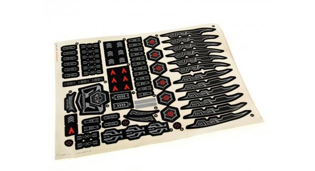 Р/У боевой робот-паук Space Warrior, лазер, диски, синий, Ni-Mh и З/У, 2.4G 11