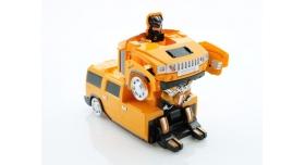 Р/У трансформер MZ Hummer H2 2829X 1/24 ездит по стенам 4