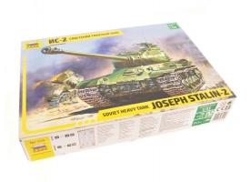 Сборная модель ZVEZDA Советский тяжёлый танк ИС-2, 1/35