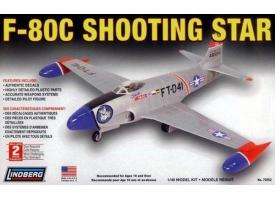 Склеиваемая модель Hawk Lindberg 1/48 F-80 C Shooting Star