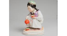 Статуэтка «Девочка-узбечка с чайником»