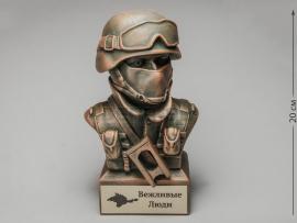 3286 Бюст «Снайпер спецподразделения»