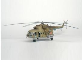 Сборная модель. Вертолет Ми-8МТ. 1/72 1