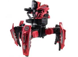Р/У боевой робот-паук Space Warrior, лазер, диски, красный, Ni-Mh и З/У, 2.4G