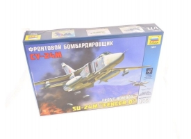 Сборная модель ZVEZDA Фронтовой бомбардировщик Су-24М, 1/72