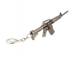 Брелок-сувенир автоматы из металла серии &quotCross Fire&quot   АК-47, М16, FAMAS 1