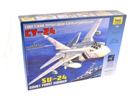 Сборная модель ZVEZDA Советский фронтовой бомбардировщик Су-24, 1/72