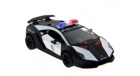 Машина Kinsmart 1:40 Lamborghini Police Sesto Elemento в асс. инерция (1/12шт.) б/к 3