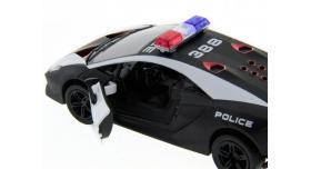 Машина Kinsmart 1:40 Lamborghini Police Sesto Elemento в асс. инерция (1/12шт.) б/к 5