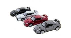 Машина Kinsmart 1:36 Nissan GT-R R35 инерция (1/12шт.) б/к 9