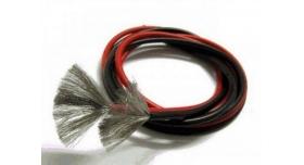 Провод AWG 24 (0,205кв.мм) силиконовый, многожильный, красный (1м) 1