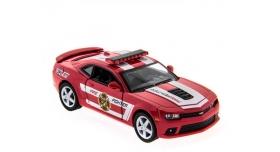 Машина Kinsmart 1:38 Chevrolet Camaro 2014 (Police/Fire) инерция (1/12шт.) б/к 3