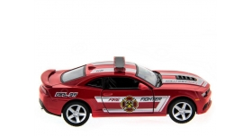Машина Kinsmart 1:38 Chevrolet Camaro 2014 (Police/Fire) инерция (1/12шт.) б/к 7