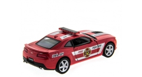 Машина Kinsmart 1:38 Chevrolet Camaro 2014 (Police/Fire) инерция (1/12шт.) б/к 11