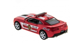 Машина Kinsmart 1:38 Chevrolet Camaro 2014 (Police/Fire) инерция (1/12шт.) б/к 12