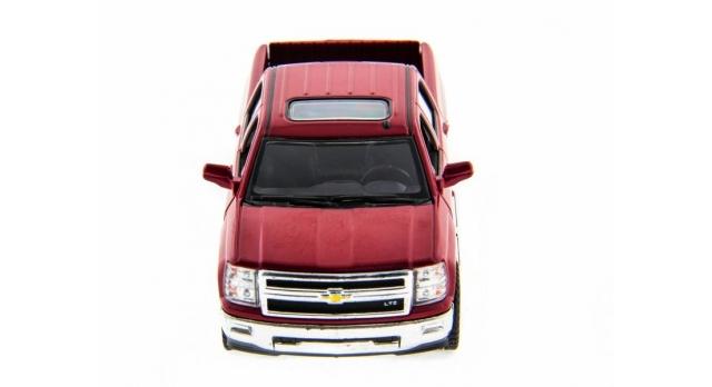 Машина Kinsmart 1:46 Chevrolet Silverado инерция (1/12шт.)  б/к 2
