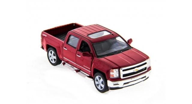 Машина Kinsmart 1:46 Chevrolet Silverado инерция (1/12шт.)  б/к 3