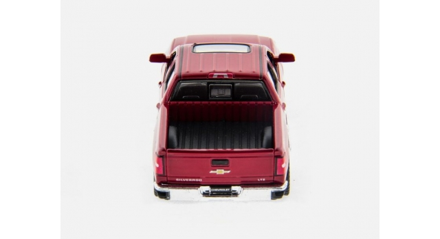 Машина Kinsmart 1:46 Chevrolet Silverado инерция (1/12шт.)  б/к 4