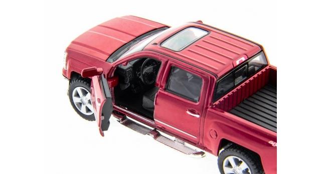 Машина Kinsmart 1:46 Chevrolet Silverado инерция (1/12шт.)  б/к 5