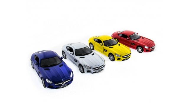 Машина Kinsmart 1:38 Mercedes-AMG GT в асс. инерция (1/12шт.) б/к 9